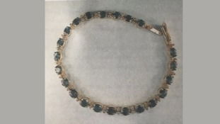 A necklace stolen from Stella Patel's home
