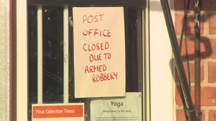 Door of post office targeted by armed robbers