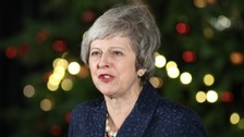 May safe as Tory party leader after winning confidence vote
