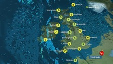 Weather: A dry day for most with some sunny spells