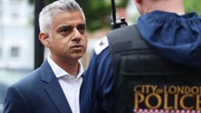 'Drastic action needed over violent crime', Sadiq Khan told