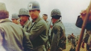 Hugo Chavez during his years in the army