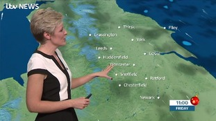 UK weather forecast: Cold and frosty with a chance of showers across Yorkshire and Lincolnshire