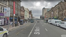 Police find family of man who died on Cardiff City centre street