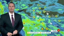 James Wright has the latest weather