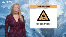 West Midlands Weather: The wet and windy weather will clear with risk of ice developing.