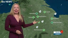 East Midlands Weather: Dry and mainly sunny