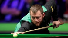 Antrim's Mark Allen made it to the final of the Scottish Open in remarkable fashion