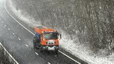 Several crashes amid icy conditions in Scotland