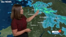 West Midlands Weather: Less cold, less windy with sunshine and showers