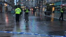 Cardiff's St Mary Street reopens after reports of incident