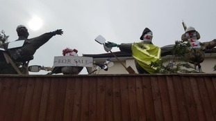 Restraining order for Suffolk man who built scarecrows overlooking neighbour's property