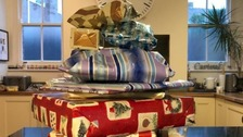 Elderly neighbour dies leaving two-year-old 14 years of presents