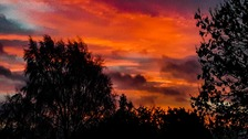 Sunrise - Red sky in the morning, shepherds warning