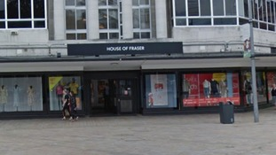 House of Fraser on Paragon Street in Hull