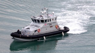 Border Force patrol boats are on alert for Christmas period crossings.
