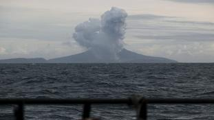 Indonesian volcano shrinks to quarter of previous size after deadly eruption