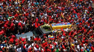 World leaders gather for funeral of Hugo Chavez
