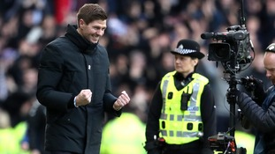 Steven Gerrard dedicated Rangers monumental win over Celtic to the club's fans