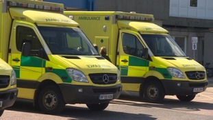 Hundreds of New Year calls for ambulance crews