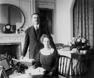 Waldorf Astor and his wife Nancy