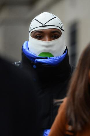 ASAP Bari – real name Jabari Shelton – arrives at the Old Bailey
