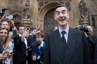 Jacob Rees-Mogg brought a failed no confidence motion against Mrs May.