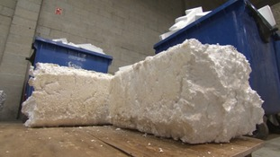 Polystyrene recycled in North Devon for first time