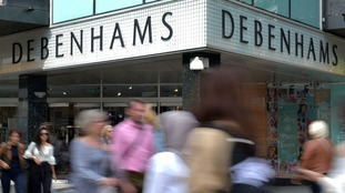 Debenhams has unveiled declining sales over Christmas.