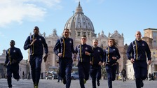 Vatican athletics team