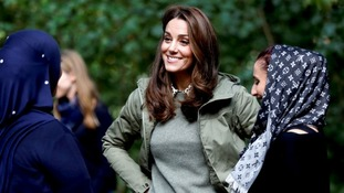 The Duchess of Cambridge has designed a Chelsea Flower Show garden.