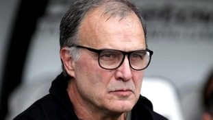 Leeds head coach Marcelo Bielsa