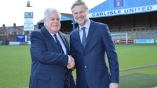 WATCH : Carlisle United welcomes new manager