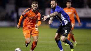 Luton out of the FA Cup after losing to Sheffield Wednesday