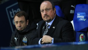 Rafa Benitez at Ewood Park