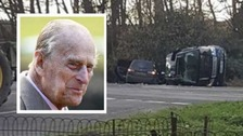 Prince Philip involved in Sandringham car crash