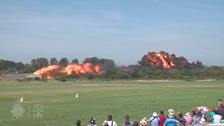 Shoreham Airshow pilot 'did nothing to avoid crash'