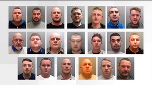 The 20-strong gang who brought terror and intimidation to Cheshire