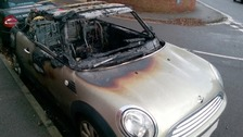 Arson attacks on Mini Coopers: CCTV released
