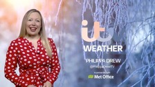Philippa has the weekend weather