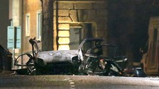 CCTV released of suspected New IRA Londonderry car bomb attack