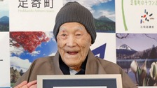 World's oldest man dies aged 113