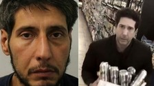 David Schwimmer 'lookalike' arrested in theft probe