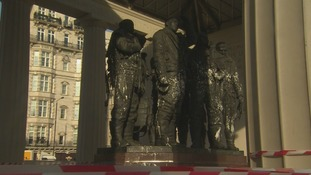 Bomber Command memorial in London's Green Park