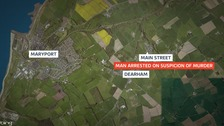 Man arrested on suspicion of murder in West Cumbria