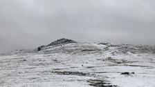 Warning to 'snow tourists' as first flurries of the year fall on Dartmoor