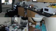 Inside the Cheltenham flat used by country lines drug dealers