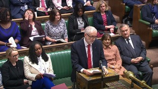 Jeremy Corbyn accused the PM of failing to answer his customs union question.