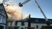 The fire at Halesworth last year