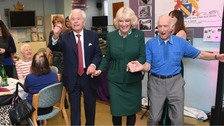 Camilla enjoys dance at Jewish centre's 80th anniversary